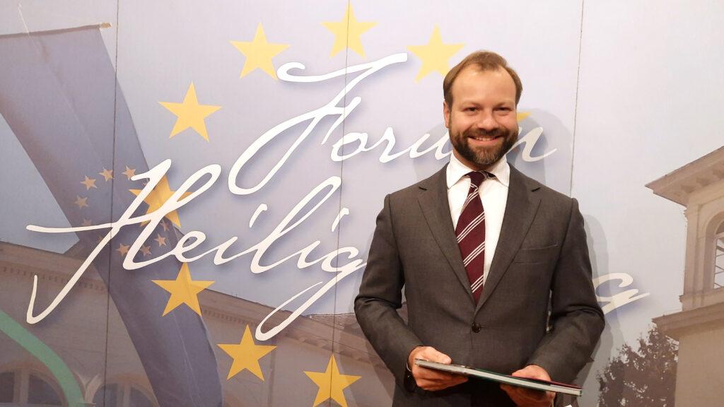 Dr. Christian Bluth von der Bertelsmann Stiftung zu Gast auf dem Heiligenberg